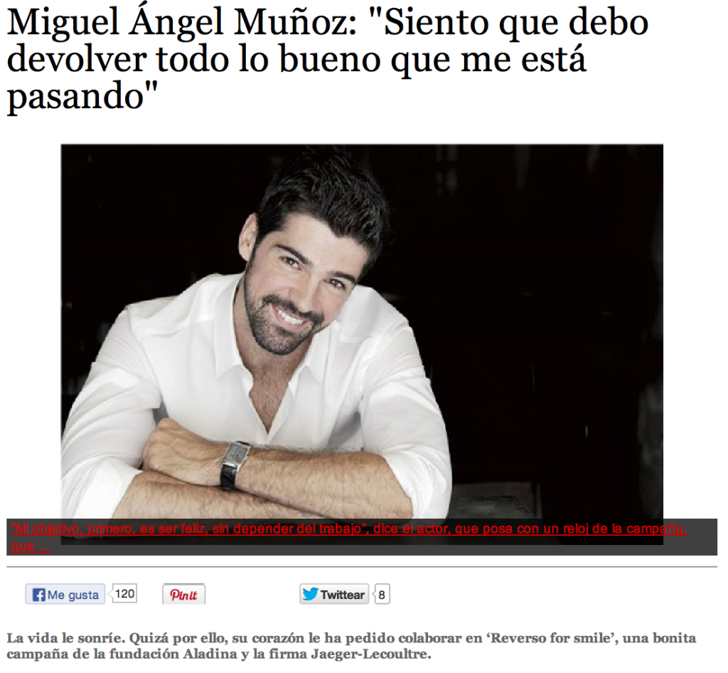 Miguel Angel Munoz Mujer Hoy