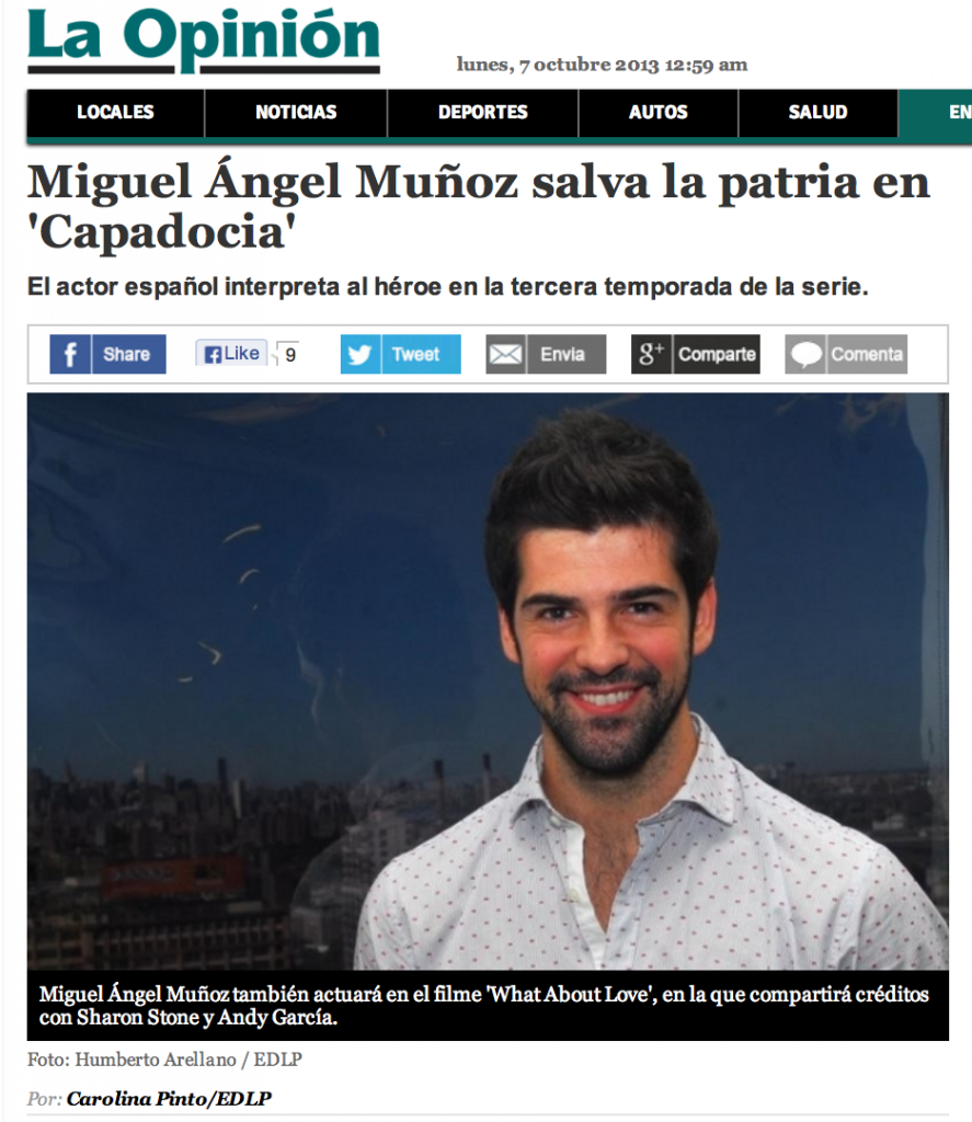 Miguel Angel Promociona Capadocia en New York