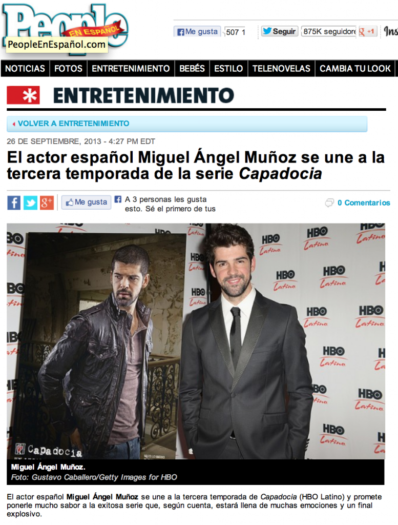 Miguel Angel Munoz People en español